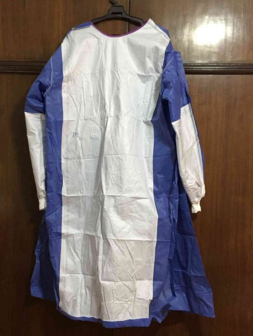 reinforced gown