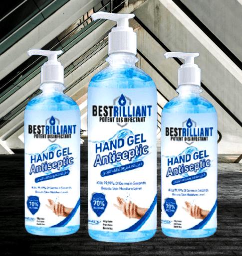 Hand Sanitizer Gel Isopropyl