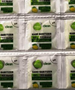 hand sanitizer gel sachet 3 ml