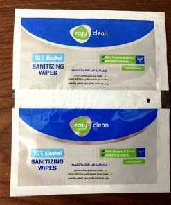 Individually Wrapped Hand sanitizer wipes